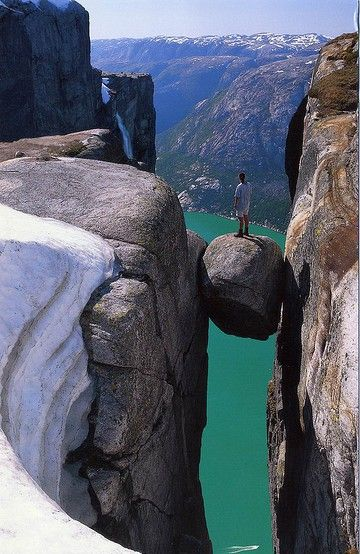 Stand on that Rock... NO WAY