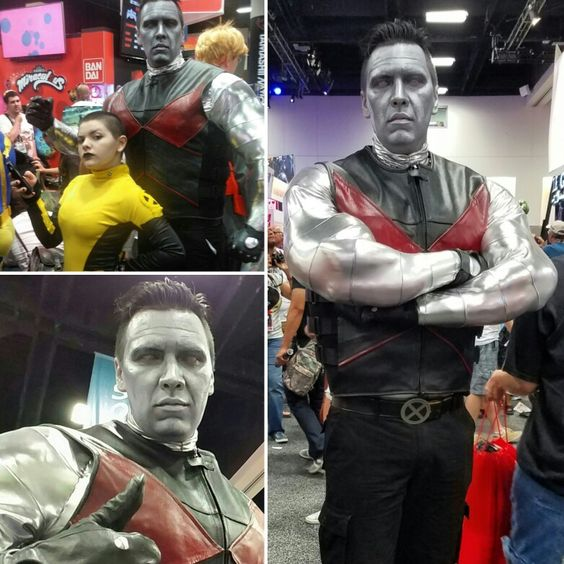Colossus Cosplay at SDCC16 #deadpool #deadpoolmovie #colossus #costume #cosplay #xmen