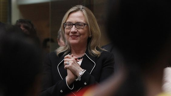 Hillary Clinton - First Lady, Senator, Secretary of State, and still looking amazing with no makeup on.