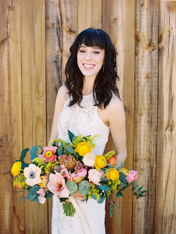 texas wedding inspiration // rue de seine gown // boho + cactus details