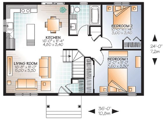 Canadian craftsman style home plans