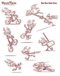 Category: Biking Viking - Character Design Page
