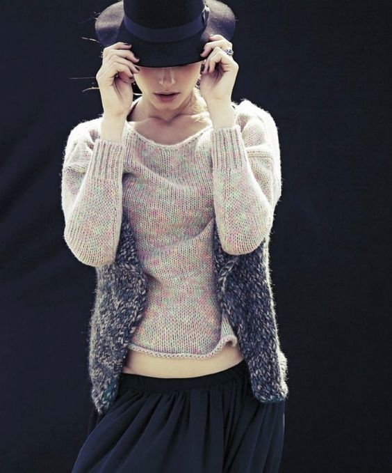Vanessa Hegelmaier By For Grazia Italia.August 2012.4  :: the knits