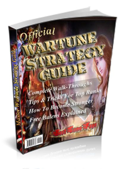The Official Wartune Strategy Guide brought to you by BestGameFAQs and Written by a top Guildmaster in S29, revealing tips, tricks, Wartune strategies and techniques to conquer the game. Included is a bonus section on how to start your own Wartune Guild and build a following. $14.95