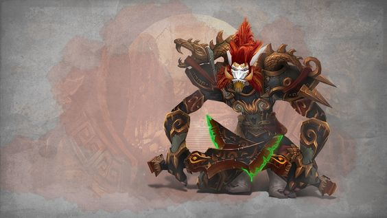 WoW - Troll Rogue Challenge Mode Gear by PaulWhipps.deviantart.com on @deviantART