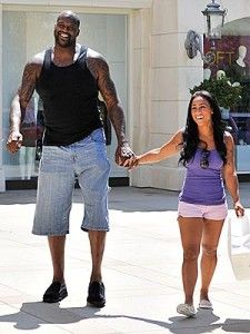 Shaquille O'neal Height