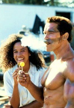 Commando ~ ( 1985 ) Rae Dawn Chong makes this movie great! The one liners, the in-jokes make this a great Rambo satire.