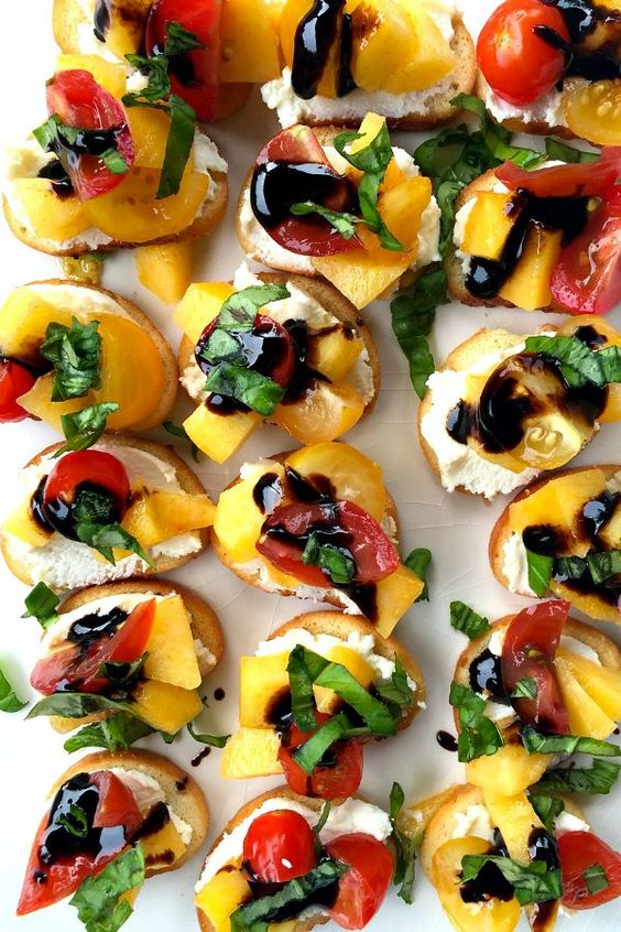 Summer parties great appetizers and crostini recipes on for Great party appetizer recipes