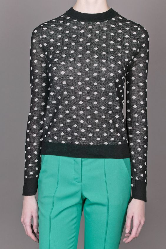 ALC Polka Dot Sweater