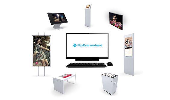 Steuern Sie Ihre digitalen Medien mit der Software PlayEverywhere