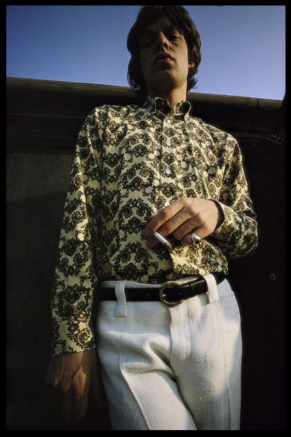 Mick Jagger by Art Kane