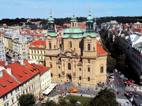 Igreja Tyn na Cidade Velha, em Praga