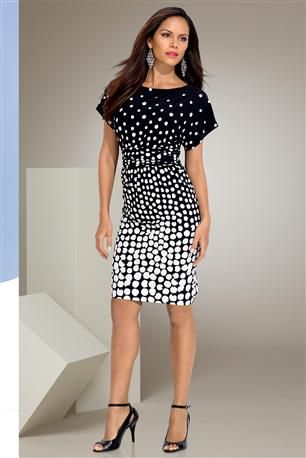 Dolman-Polka-Dot-Dress