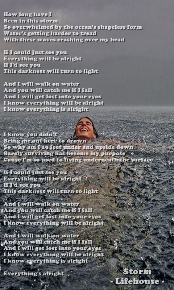 Storm by Lifehouse | Songs of life | Pinterest | Storms, Songs and ...