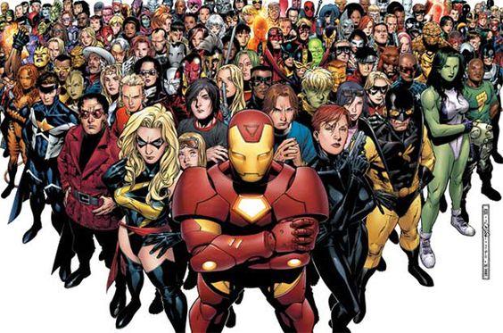 A editora americana Marvel  disponibilizou 268 títulos de alguns gibis online.