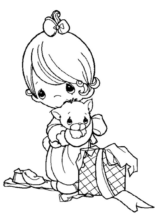 sweet moments coloring pages | Sweet Children - 999 Coloring Pages | Digi Stamps ...