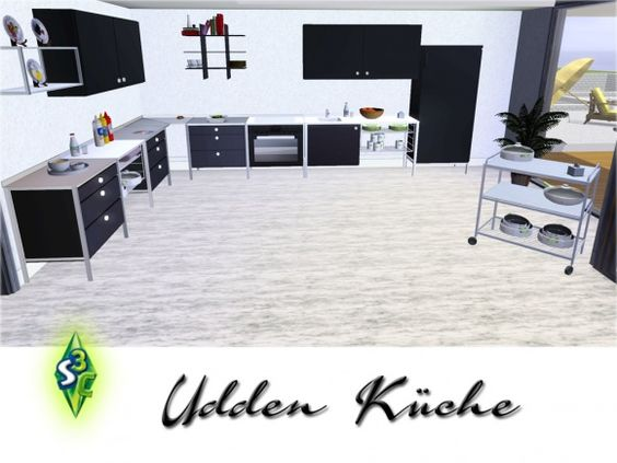 Udden kitchen - ikea inspired by bobo at sims 3 community - Sims 3 - udden küche ikea