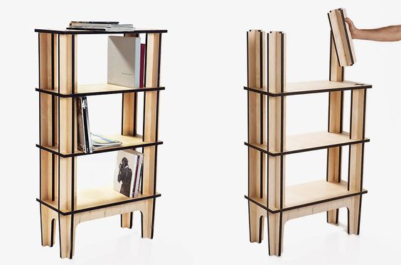 Library Shelf - 3 Levels by Mario Pagliaro | MONOQI