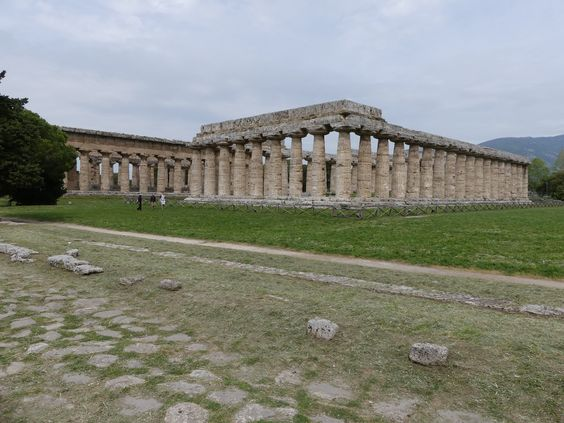 Temple de Poséidon -Paestum,
