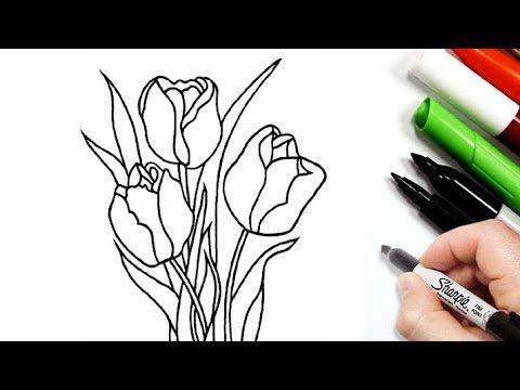 رسم وردة سهلة خطوة بخطوة رسم سهل رسومات سهلة تعليم رسم ورد سهل Youtube Pen