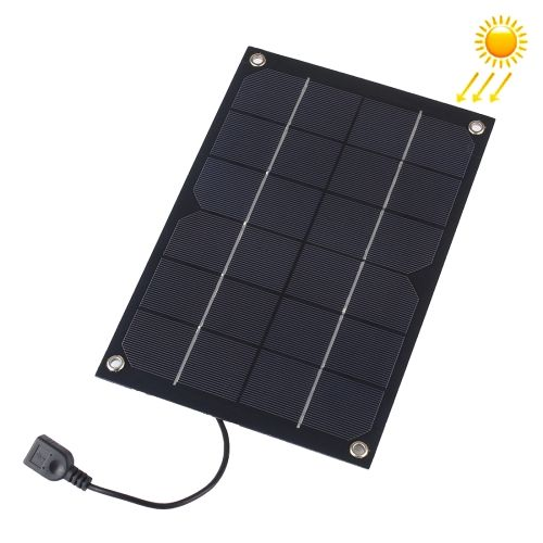 13 17 Portable Outdoor Sports Necessity 6w 5v Monocrystalline Silicon Solar Panel Charger With Usb Fe Solar Panel Charger Flexible Solar Panels Solar Panels