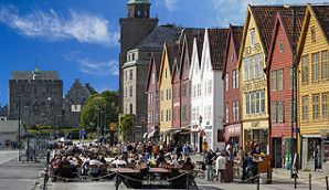Bryggen – the Hanseatic Wharf in Bergen, Norway - Photo: Bergen Tourist Board/Robin Strand