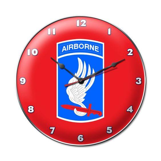 173rd Airborne Division Clock