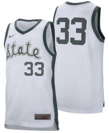 Nike #33 Retro Basketball Jersey (White) by Nike