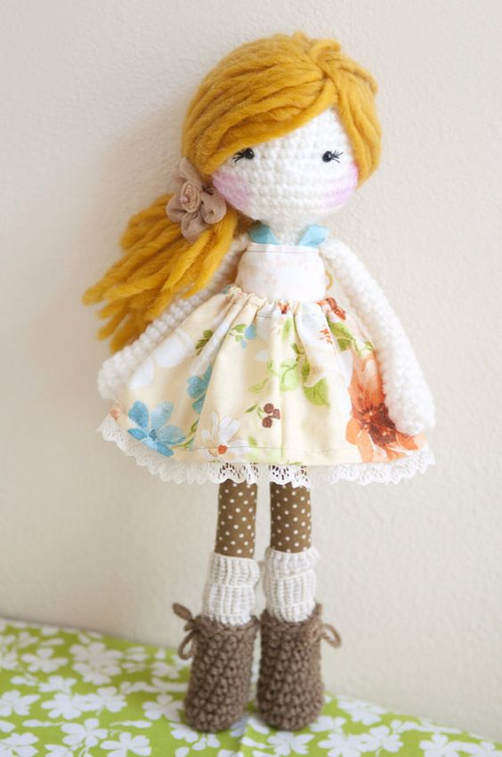 Handmade Crochet Dolls by LinaMarieDolls on Etsy ---- rag ...