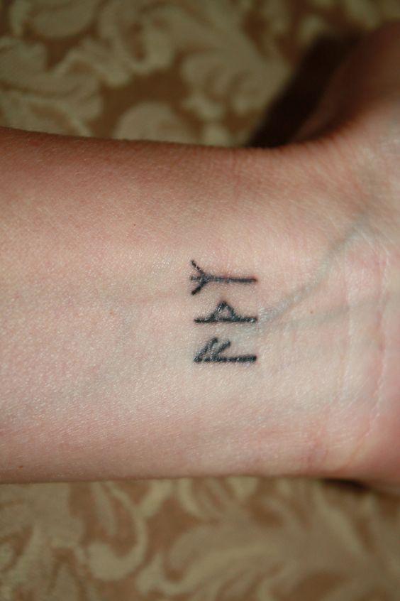 rune tattoos i had done in saigon ansuz thurisaz algiz tattoos pinterest other. Black Bedroom Furniture Sets. Home Design Ideas