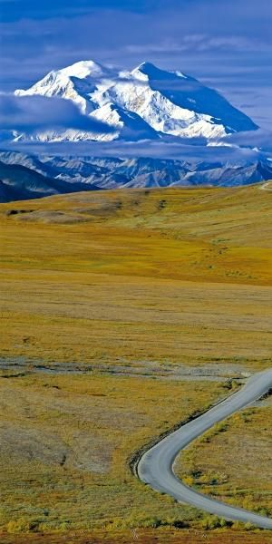 Alaska, Denali National Park, Mount McKinley, Panorama Photo