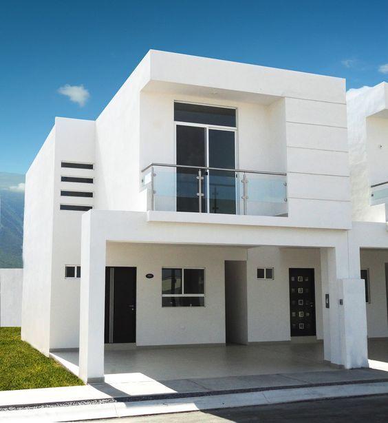 Fachadas De Casas De Infonavit De Dos Pisos Modern House Facades Duplex House Design Facade House