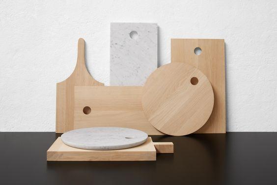 Schneidebrett aus Holz AC08 SLICE by e15 | Design Philipp Mainzer