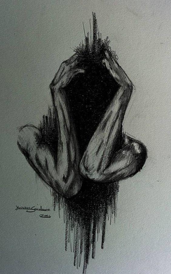 Anxiety by ArtistKS.deviantart.com on @DeviantArt
