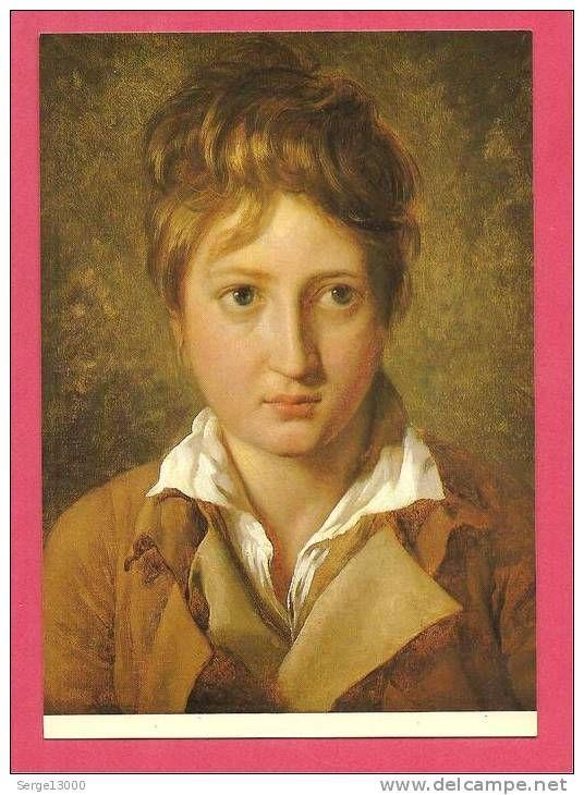 Jacques-Louis David - Portrait de jeune garçon