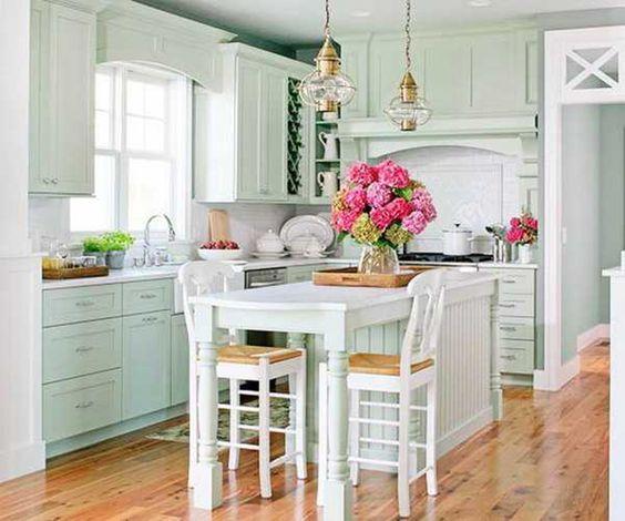Modern Kitchen Decor Vintage Style