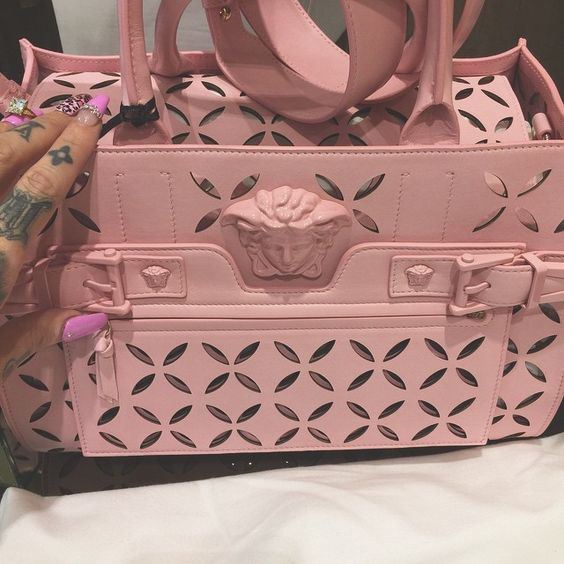 Nothing better than baby pink @versace_official