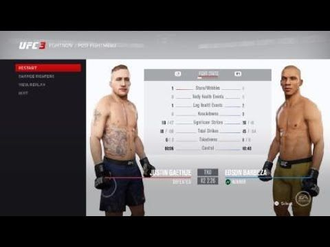 Justin Gaethje Vs Edson Barboza Fight Video Ufc Fight How To Plan