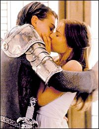 Romeo and Juliet. I love that movie <3