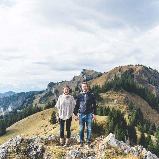 Hochzeitsantrag in den Alpen