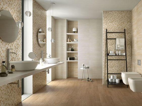Rivestimento bagno effetto marmo tivoli gres - Rivestimento bagno gres porcellanato ...
