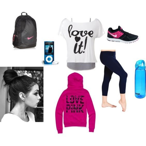 """Workout Outfit"" by klanter on Polyvore"