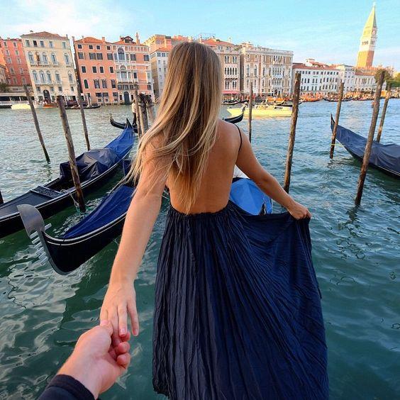Venice Italy Follow me to Venice  Dress by @lulus