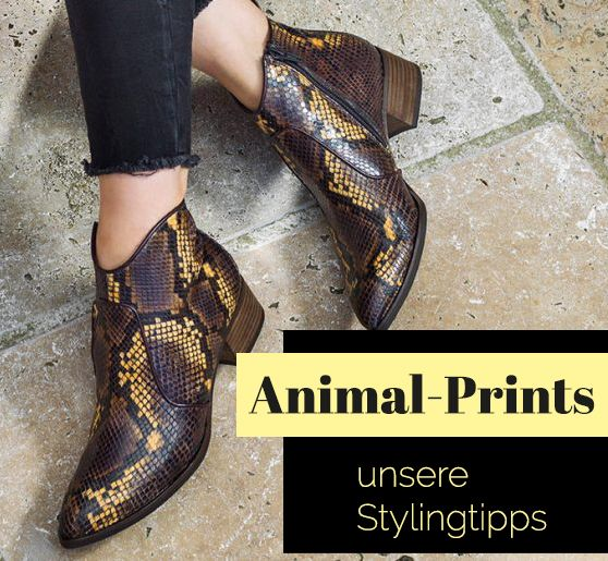 Animal Prints unsere Stylingtipps | Styling tipps, Mode