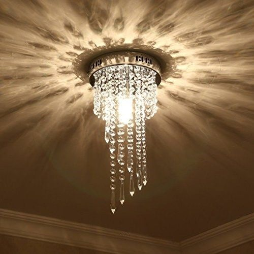 Modern Silver Lustre Led Crystal Ceiling Lights Lighting Fixture Ceiling Lamp Crystals Living Room Lights Bedroom Lights Ceiling Lights Crystal Ceiling Light Ceiling Lamp