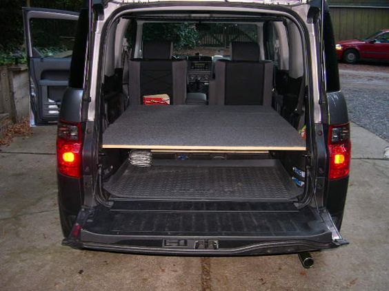 Easiest Bed With Mass Storage Honda Element Owners Club