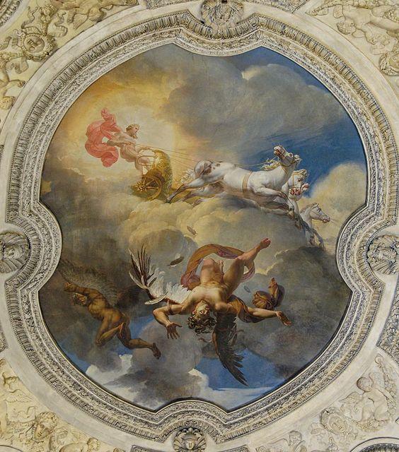 Merry-Joseph Blondel, The Sun or the Fall of Icarus, 1819, Louvre Museum, Paris