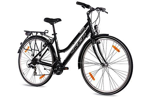 Kcp 28 Citybike Damen Trekkingrad Alu Fahrrad Ara Mit 21 Gang Shimano Acera Schwarz 71 1 Cm 28 Zoll Amazon De Sp Trekking Fahrrad Citybike Damen Fahrrad