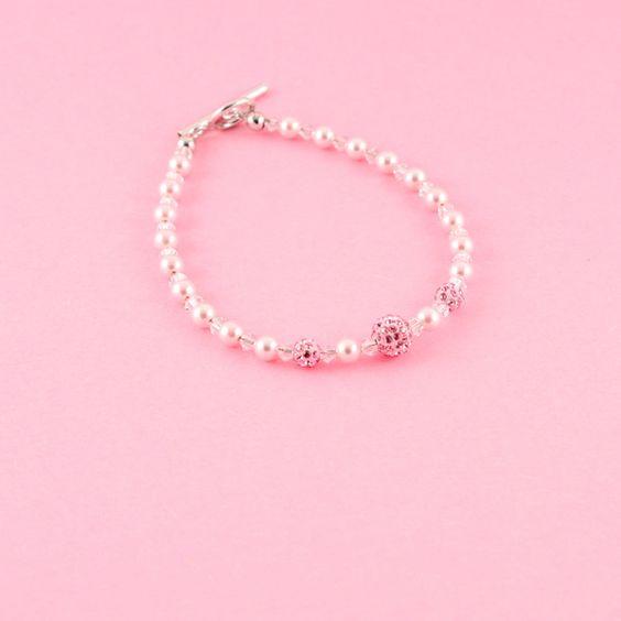 Perlenarmbänder - Armschmuck Louisa - Braut - ein Designerstück von greta_mar bei DaWanda