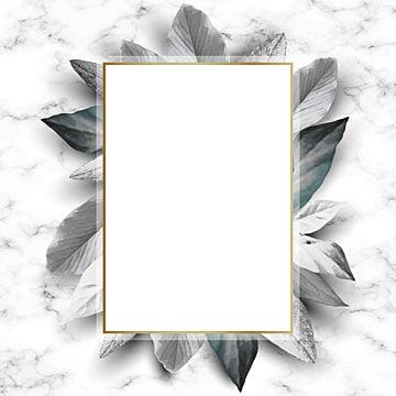 إطارات مستطيل عتيق مع أوراق معزولة على صورة ناقلات الرخام جميلة زهر الحدود Png والمتجهات للتحميل مجانا Vintage Frames Gold Wallpaper Background Texture Vector